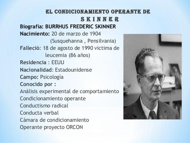 Condicionamiento De Skinner Por Elly Anguaya