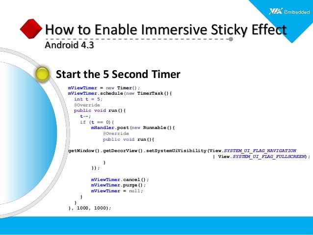 Skinning Android for Embedded Applications