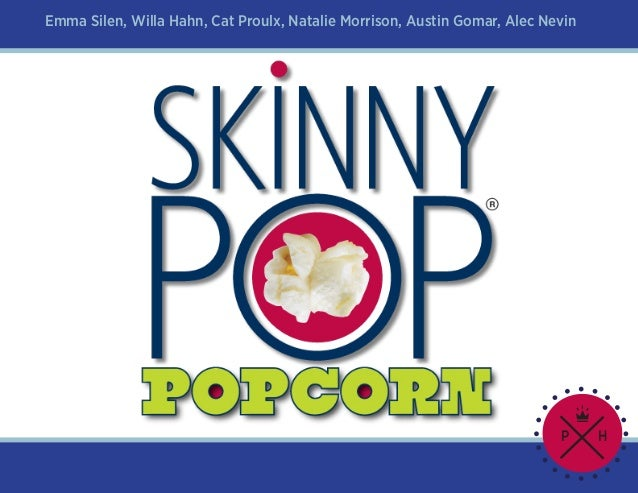 Skinny pop book advertising final final 2a261ee83f35e