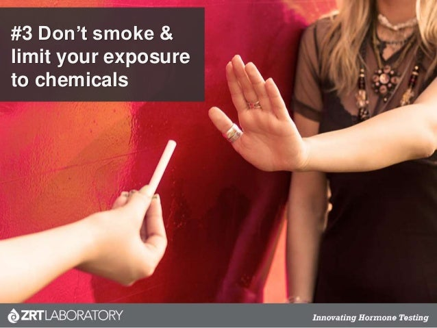 #3 Don't smoke & limit your exposure to chemicals