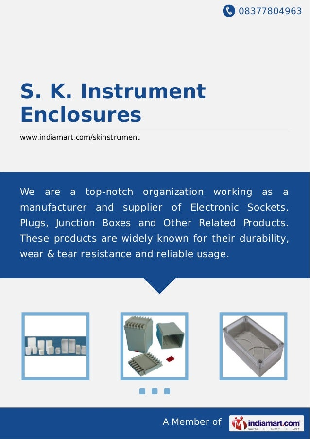 S  K  Instrument Enclosures, Mumbai, Electronic Instrument