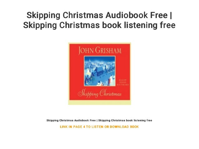 Skipping Christmas.Skipping Christmas Audiobook Free Skipping Christmas Book
