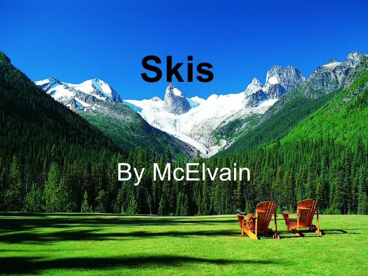 Skis By McElvain