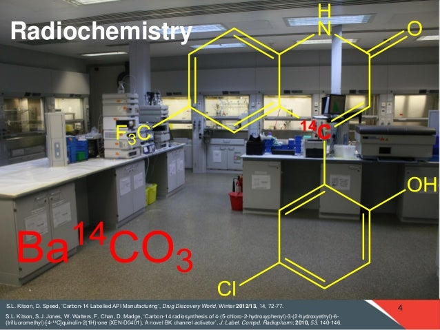 Radiosynthesis 14c