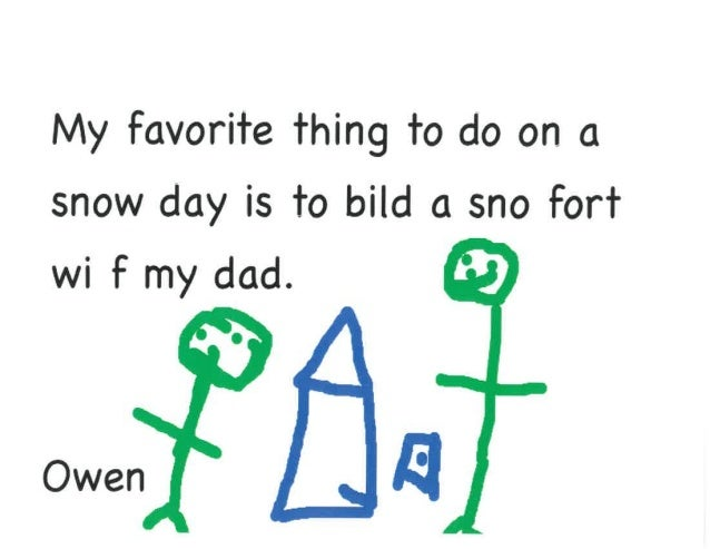 Our Favorite Things to do on a Snow Day! - Ms Standorf's Class Slide 3