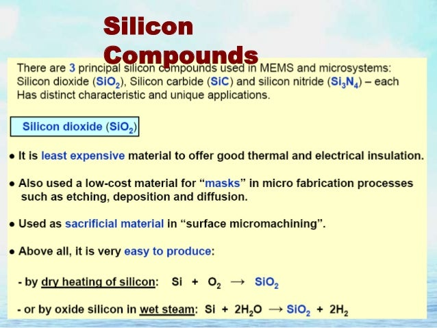 chemical properties of silicon and its uses Video: what is silica - properties & definition  silica is another name for the chemical compound silicon dioxide each unit of silica includes one atom of silicon and two atoms of oxygen .