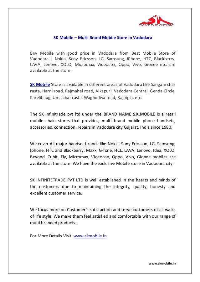283db985b706a4 Sk mobile – multi brand mobile store in vadodara