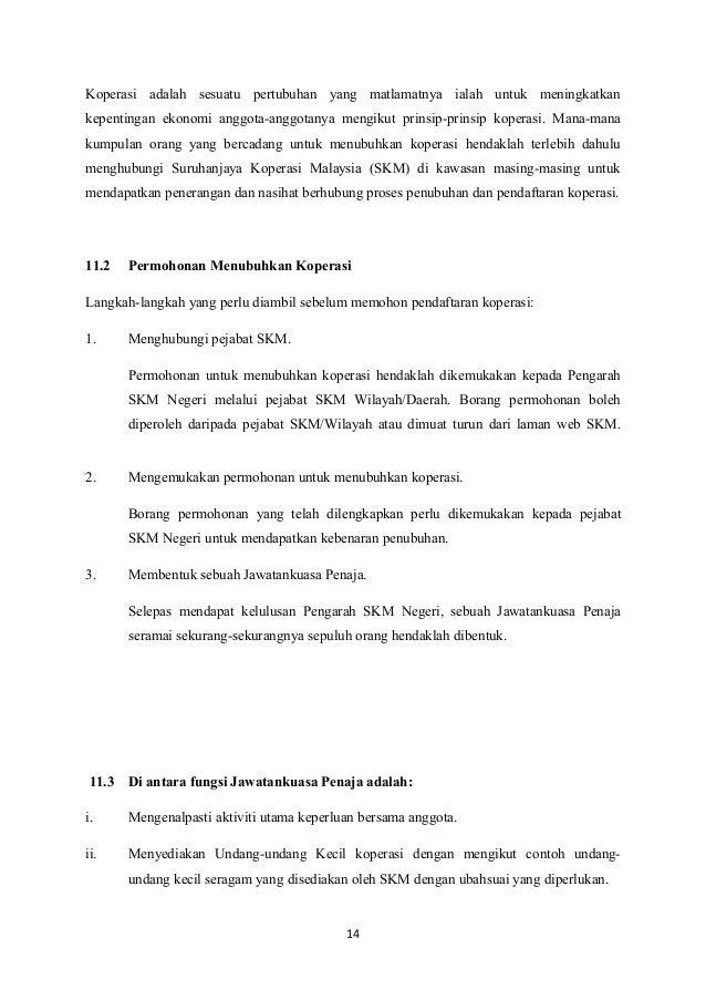 Peranan Suruhanjaya Koperasi Malaysia