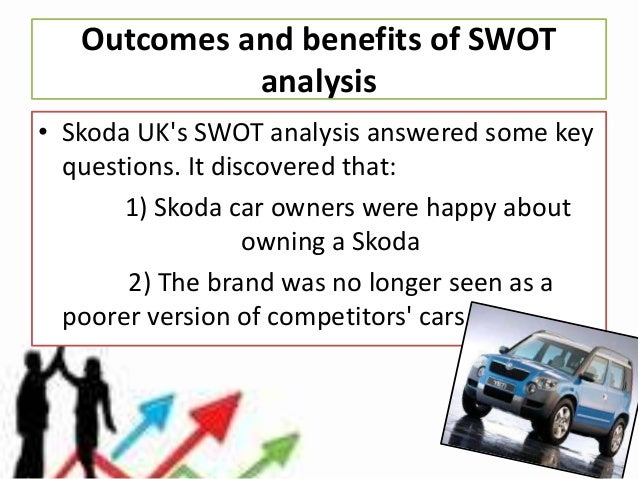 swot analysis of skoda Find the latest and most comprehensive swot & pestle analysis of  names  like bentley, audi, ducati, volkswagen, bugatti, lamborghini, skoda, seat, etc.