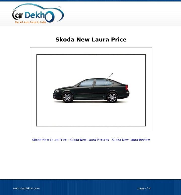 Skoda New Laura Price           Skoda New Laura Price - Skoda New Laura Pictures - Skoda New Laura Reviewwww.cardekho.com ...