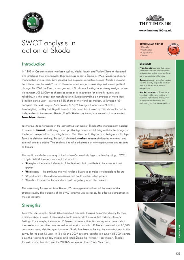 conclusion of swot analysis