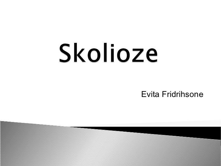 Evita Fridrihsone