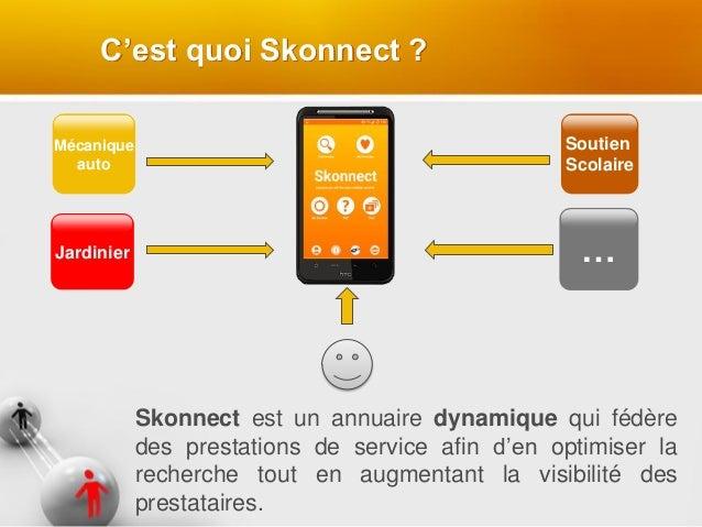 Mécanique auto Skonnect est un annuaire dynamique qui fédère des prestations de service afin d'en optimiser la recherche t...