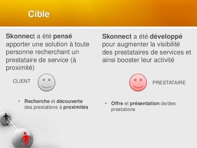 Skonnect a été pensé apporter une solution à toute personne recherchant un prestataire de service (à proximité) Skonnect a...