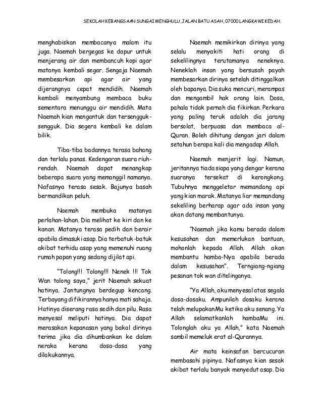 Skrip Cerita Pertandingan Bercerita Bahasa Melayu