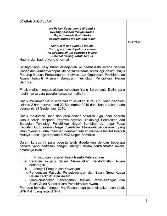 Teks Ucapan Pengacara Majlis Dalam Bahasa Inggris Usb Cable Sale