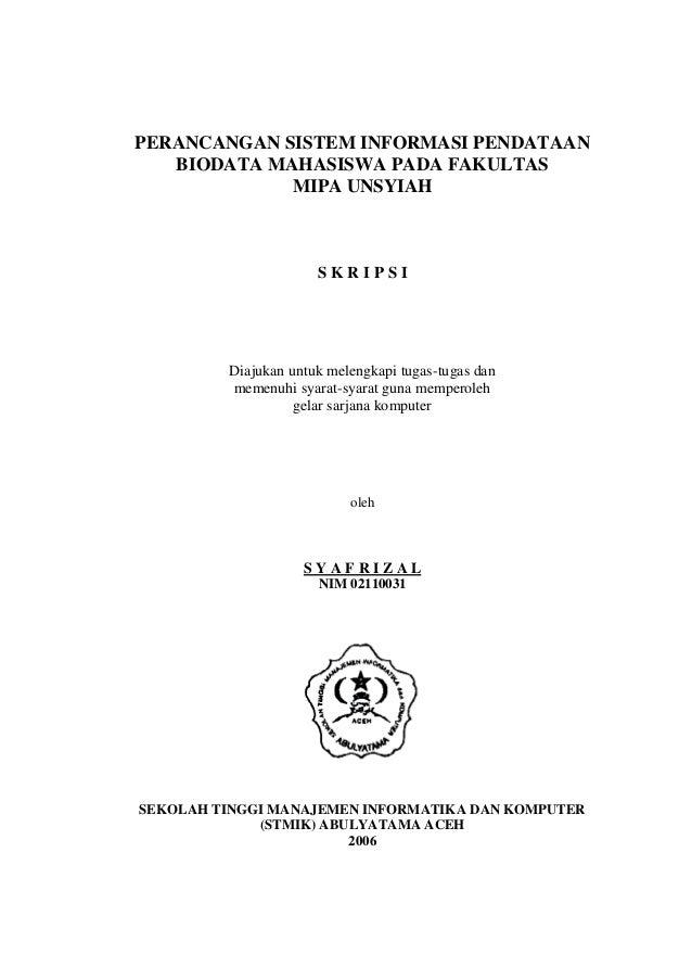 Proposal Skripsi Sistem Informasi Penjualan Batik Berbasis Web