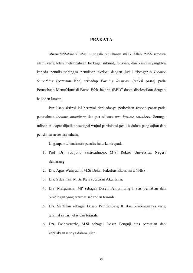 Judul Skripsi Akuntansi Bursa Efek Indonesia - Contoh Moo
