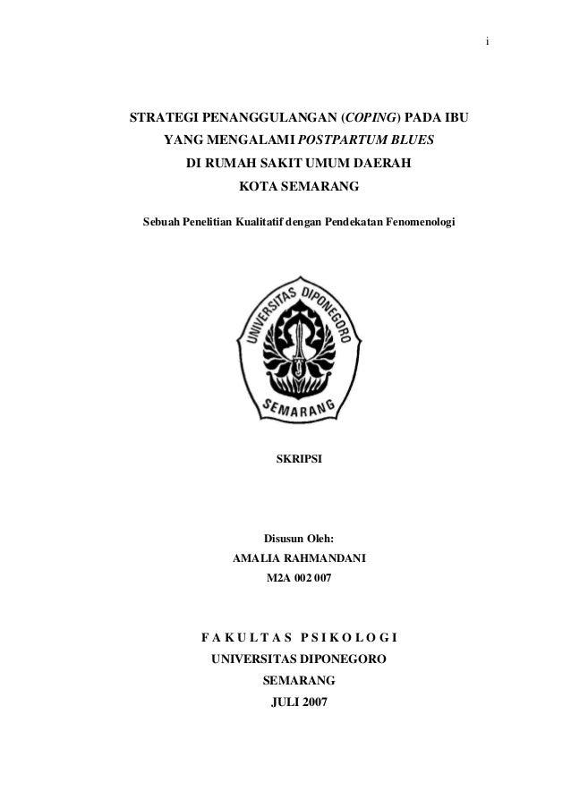Judul Skripsi Psikologi Kualitatif Ide Judul Skripsi Universitas