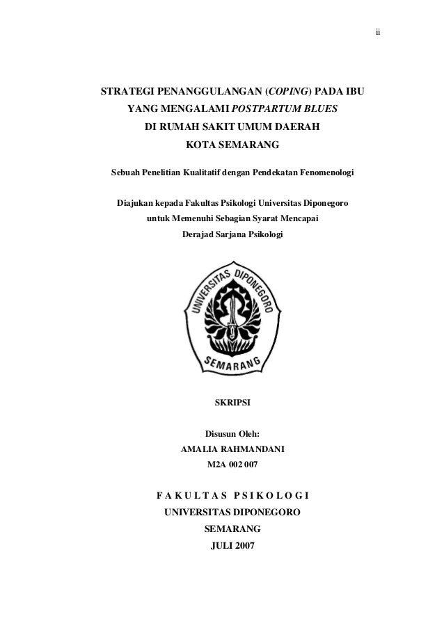 Judul Skripsi Kuantitatif Psikologi Pejuang Skripsi