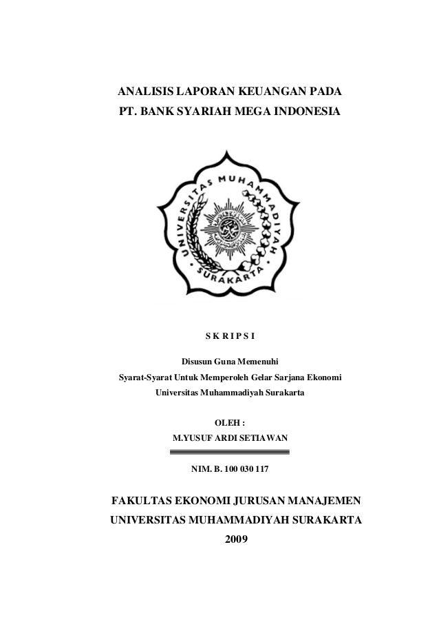 Contoh Judul Jurnal Ekonomi Syariah Jurnal Indonesia