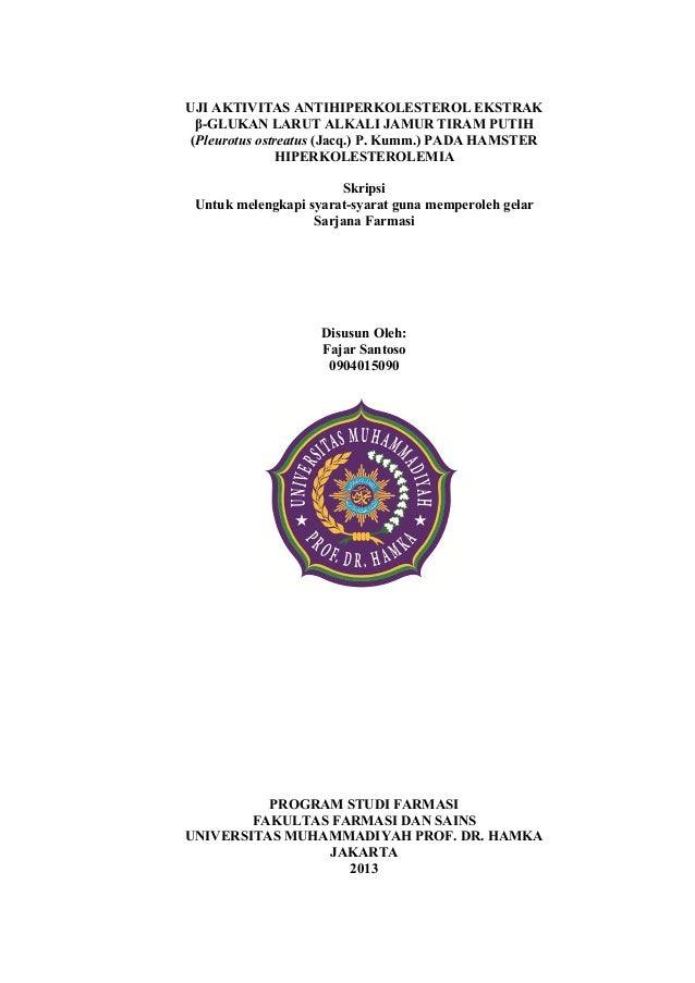 Contoh Skripsi Farmasi Contoh Soal Dan Materi Pelajaran 2