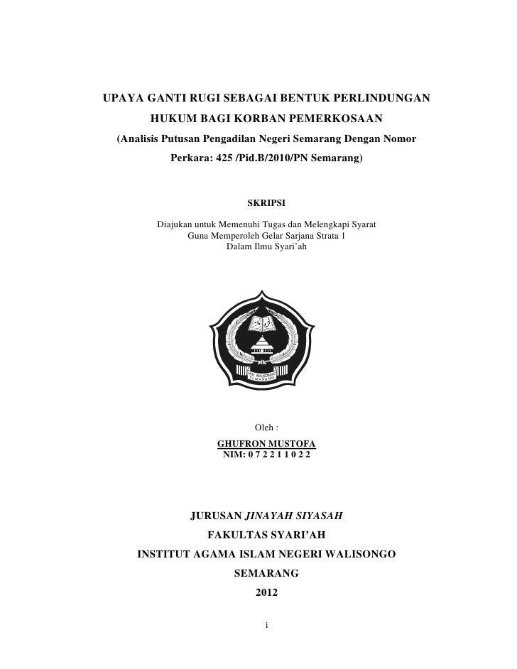 Contoh Tesis Hukum Keluarga Islam Contoh Soal Pelajaran Puisi Dan Pidato Populer