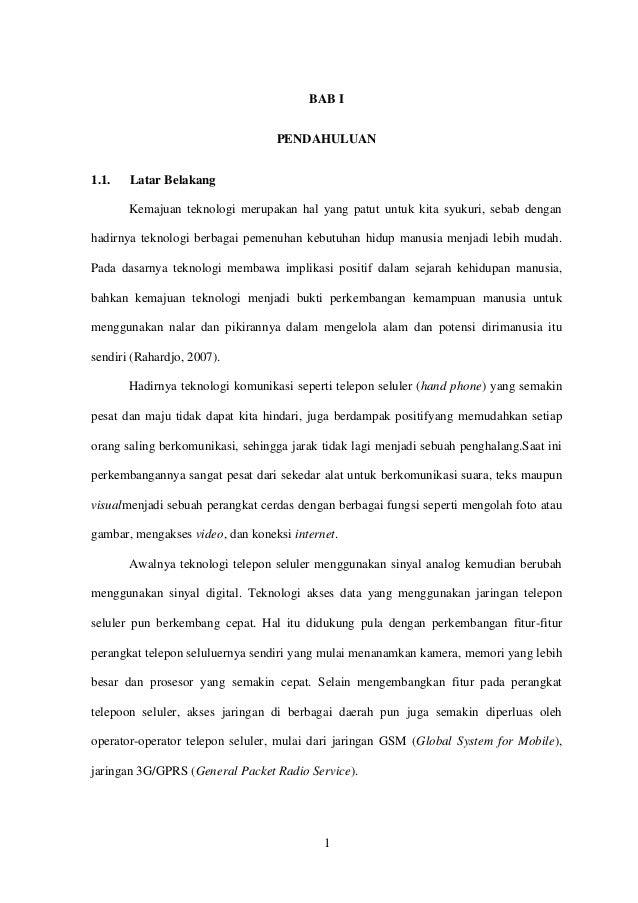 Contoh Batasan Masalah Skripsi Teknik Informatika