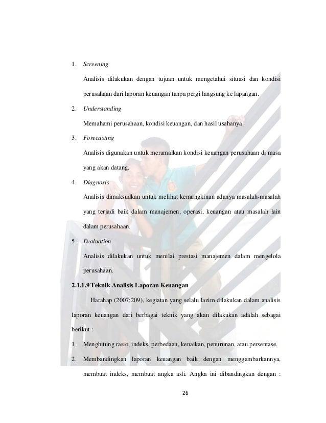 Contoh Skripsi Analisis Laporan Keuangan Untuk Menilai Kinerja Perusahaan Kumpulan Contoh Laporan