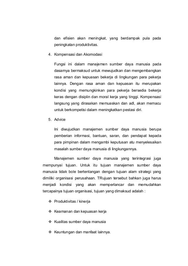 Skripsi Pengaruh Tingkat Kesejahteraan Terhadap Kinerja Karyawan Pt