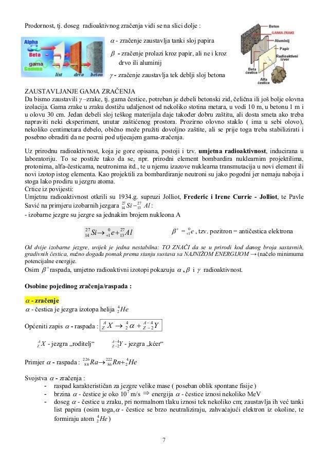 Problemi vezani za izotope