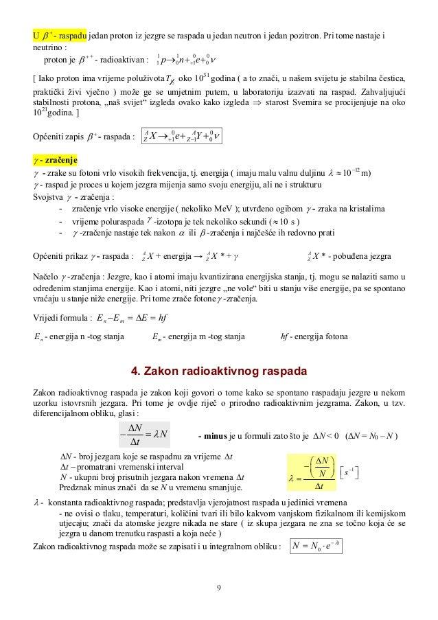 Definiranje izotopa
