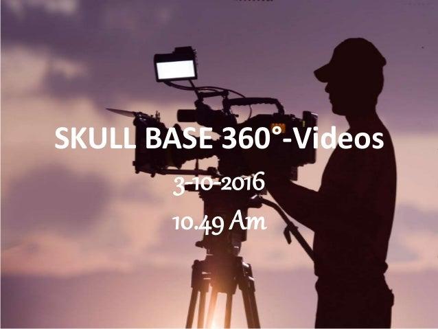 SKULL BASE 360°-Videos 3-10-2016 10.49 Am