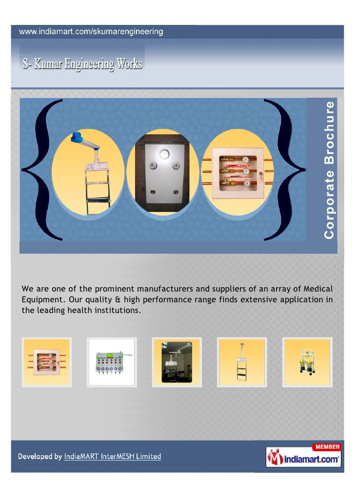 We are one of the prominent manufacturers and suppliers of an array of MedicalEquipment. Our quality & high performance ra...