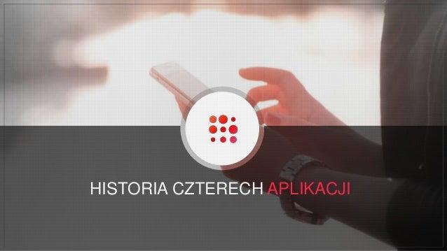 HISTORIA CZTERECH APLIKACJI