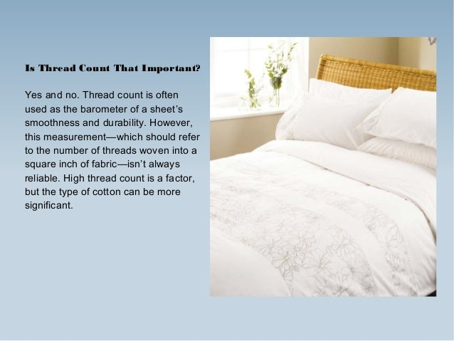 know how to choose best cotton bed linen 2 is thread count