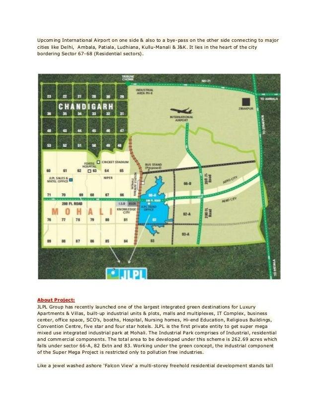 2BHK Sky Garden, JLPL, Sector 66 A, Mohali.  Slide 3