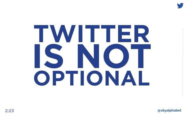 B2B Marketing and The Power of Twitter Slide 2