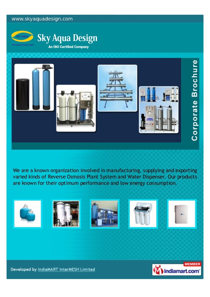 We are a known organization involved in manufacturing, supplying and exportingvaried kinds of Reverse Osmosis Plant System...