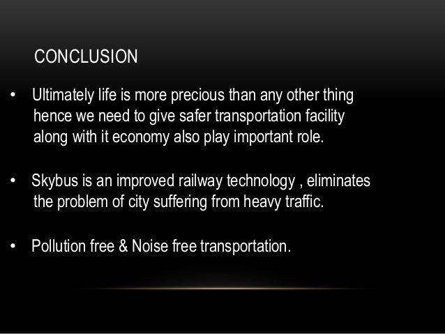 technology in transportation essay