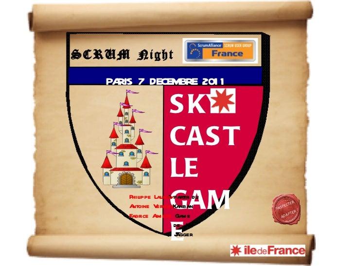 Support du Sky Castle Game joué à la Scrum Night du 07/12/2011
