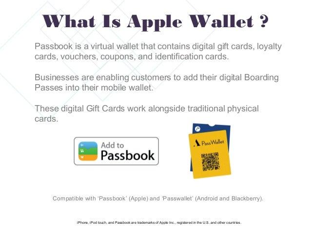 Mobile Gift Card Generator For Apple Wallet