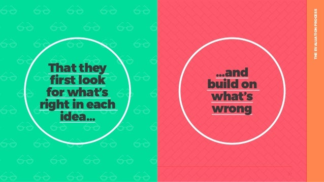 table19.co.uk • @wearetable19 27 THEEVALUATIONPROCESS …and build on what's wrong That they first look for what's right in ...