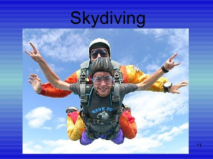 Skydiving *1