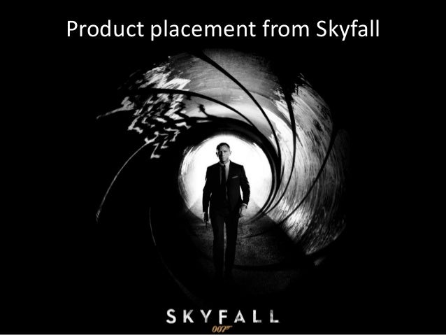 Product placement from Skyfall