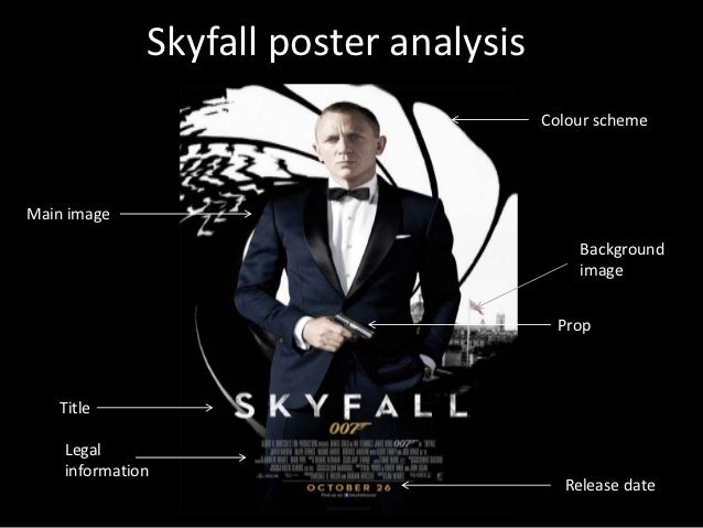 skyfall poster analysis