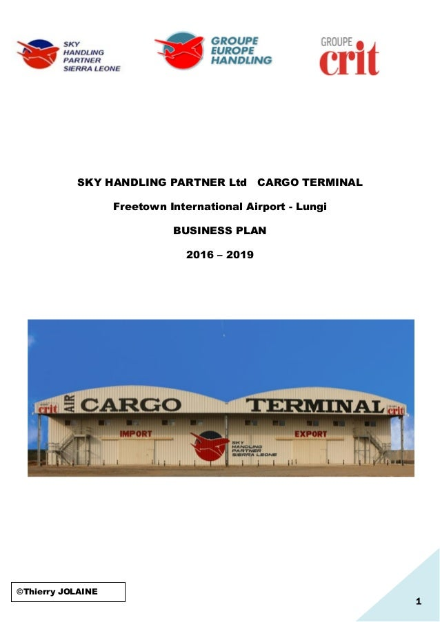 airport business plan template