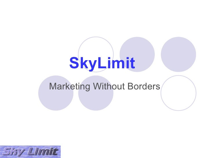 SkyLimit Marketing Without Borders