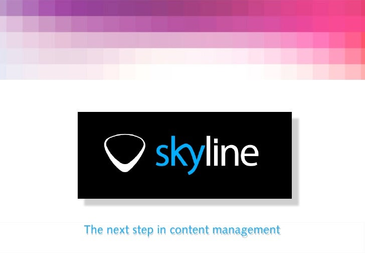 The next step in content management