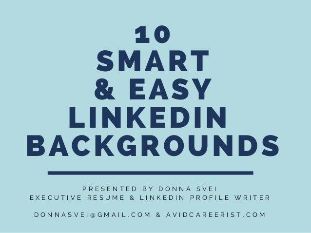 10 Smart Easy Linkedin